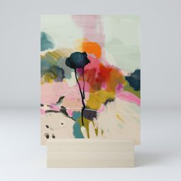 paysage abstract Mini Art Print