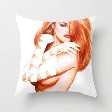 NUDWOM Throw Pillow