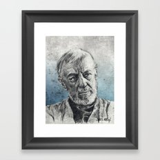 That Wizard is just a Crazy old man - Ob1 Framed Art Print
