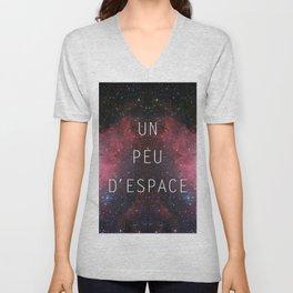 a little bit of space Unisex V-Neck