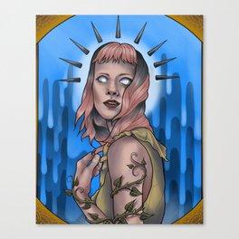 Clarice Tarrot Canvas Print