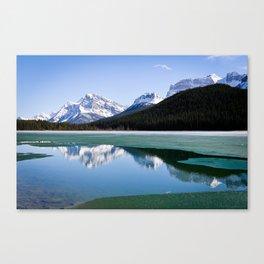 Banff to Jasper Canvas Print