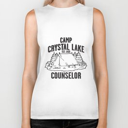 Camp Crystal Lake Counselor Friday The 13Th Retro Tee Camp T-Shirts Biker Tank