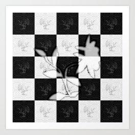 Flower power (power of good) Art Print
