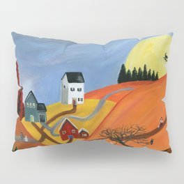Hilly Haunting Pillow Sham