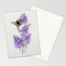 Watercolor Bumble Bee Stationery Cards
