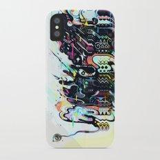 kaleidoscope iPhone X Slim Case