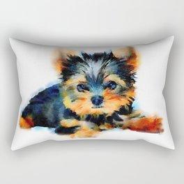 Yorki Pup Rectangular Pillow