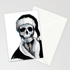 Blackest Ever Black Xmas Stationery Cards