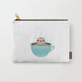 Sloth In A Cup Carry-All Pouch