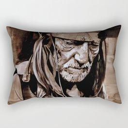 Sepia Willie Rectangular Pillow