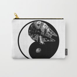 Millennium Falcon / Death Star Yin Yang Symbol Carry-All Pouch