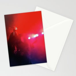 Red Music Stationery Cards