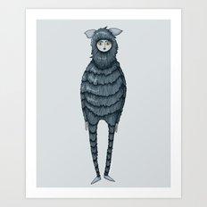 Kazia Monster Art Print