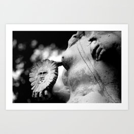 crafted stone 4 Art Print