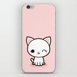 Kawaii Kitty 3 iPhone Skin