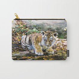 Autumn Tiger Cub Carry-All Pouch