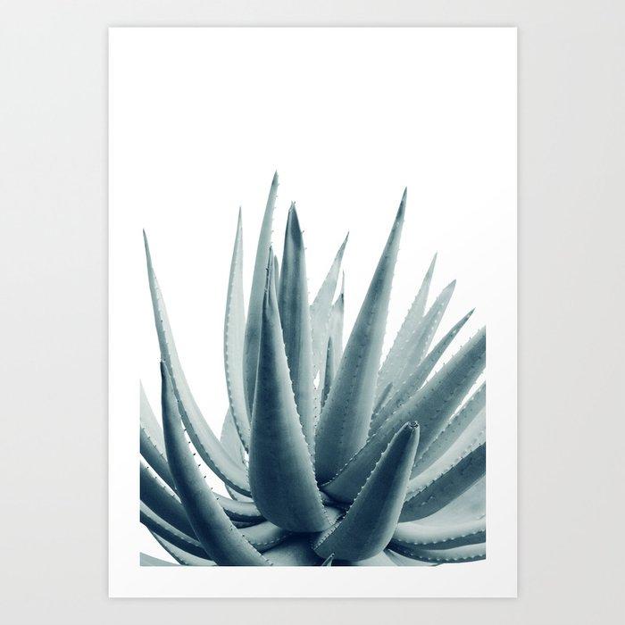 Agave Blue Vibe #1 #tropical #decor #art #society6 Kunstdrucke