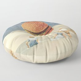 Desert Mirage Floor Pillow