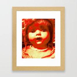 Atomic Jenny Framed Art Print