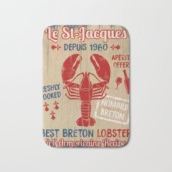 Le St-Jacques Lobster Shack Bath Mat