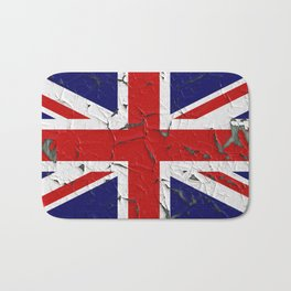 Grunge flag of United Kingdom Bath Mat