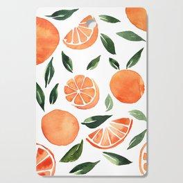 Summer oranges Cutting Board
