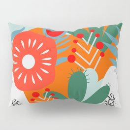 Cacti, fruits and flowers Pillow Sham