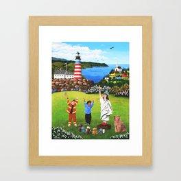 Beacons of Hope Framed Art Print