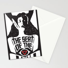 The Seat Of The Mind Stationery Cards