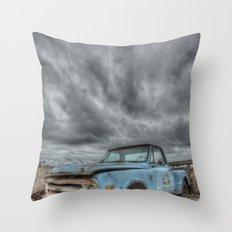 Old Thunder Throw Pillow