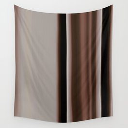 Ombre Brown Earth Tones Wall Tapestry