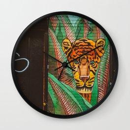 Brooklyn Jungle Wall Clock