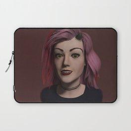Morgan, the Demonic Devil Girl Laptop Sleeve