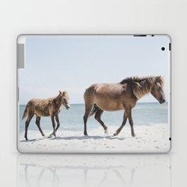 Horse Horse beach Laptop & iPad Skin