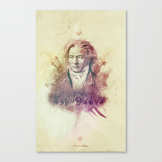 Beethoven Canvas Print