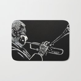Dizzy Be Bop Bath Mat