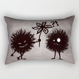 Kind Evil Bugs Rectangular Pillow