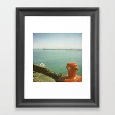 35 Framed Art Print
