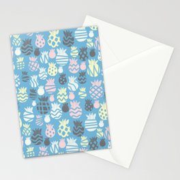 It's raining pineapples Stationery Cards
