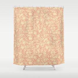 Geojumble One Shower Curtain