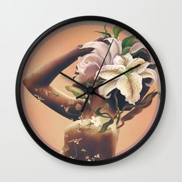 Floral beauty 3 Wall Clock