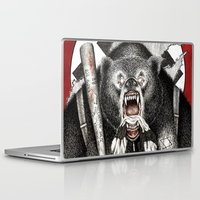 quentin tarantino Laptop & iPad Skins featuring Inglourious Basterds (Quentin Tarantino) The Bear Jew by ARTbyGB