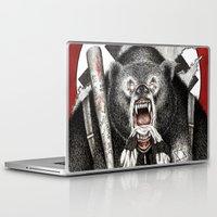 tarantino Laptop & iPad Skins featuring Inglourious Basterds (Quentin Tarantino) The Bear Jew by ARTbyGB