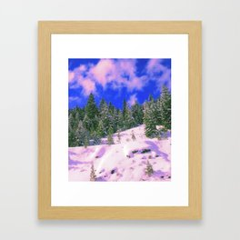 Cali Dreamy Framed Art Print