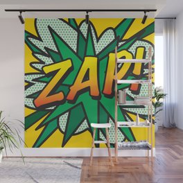 Comic Book ZAP! Wall Mural
