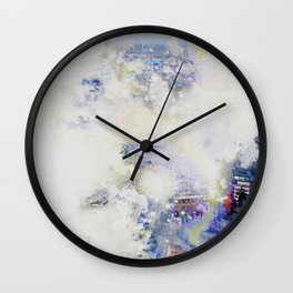 Too Far Wall Clock