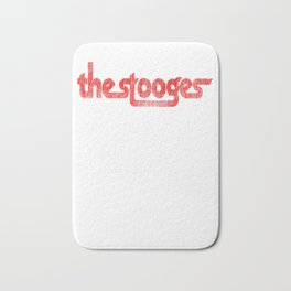 The Stooges distressed (red) Bath Mat