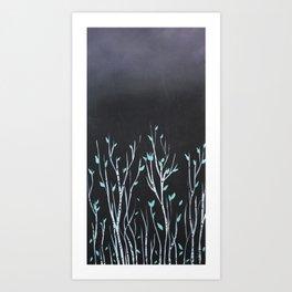 Birch2 Art Print