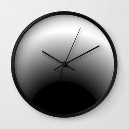 Radial radical (white) Wall Clock